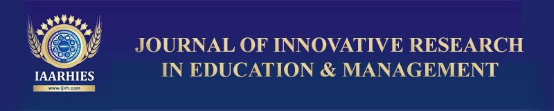 Journal of Innovative Research in Education and Management